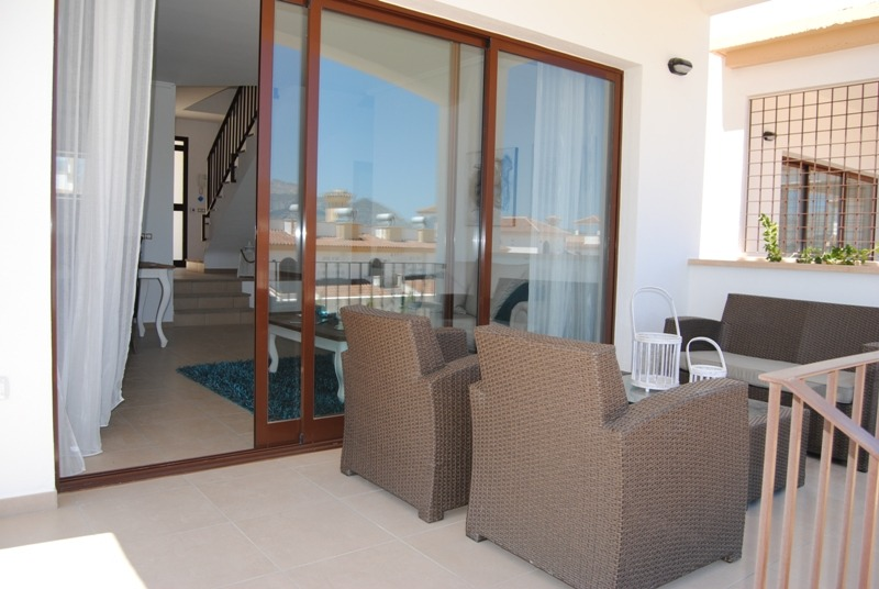 Enjoy the private terrace!